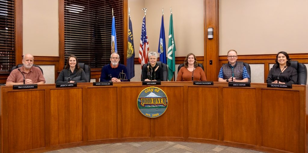 Hood River City Council January 13, 2020
