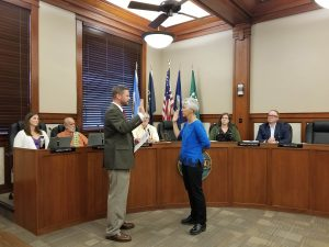 Mayor McBride appointed, opening council seat