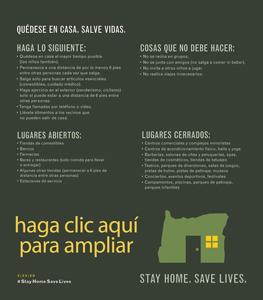 Quedese en casa, salva vidas