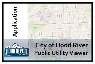 City of Hood River Utility Map