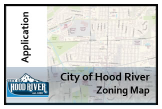 City of Hood River Zoning Map