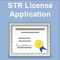 STR License Application Link