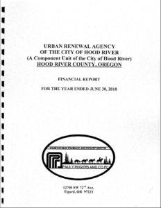 Urban Renewal Agency 2017-18 Audit