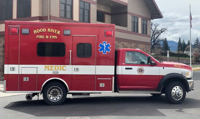 City of Hood River Fire Department Medic 3