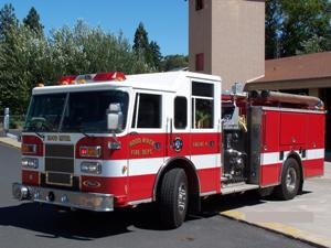 Hood River Fire Department Pierce Saber