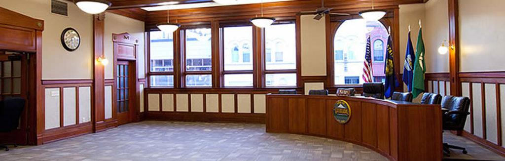 City of Hood River City Hall Interior