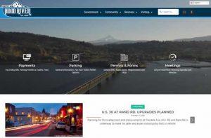City of Hood River New Website