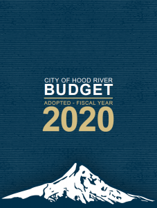 2019-20 Adopted City Budget