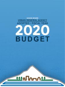 2019-20 Adopted Urban Renewal Agency Budget
