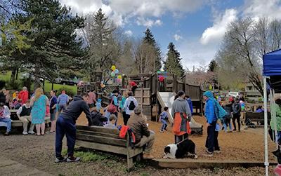 The original Children's Park was built in 1993.