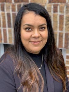 Gabriela Bustos, administradora de la corte municipal