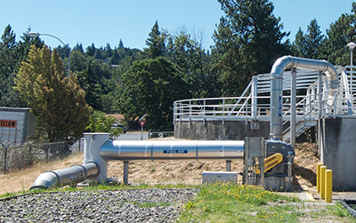Odor control projects at the City's Waste Water Treatment Plant