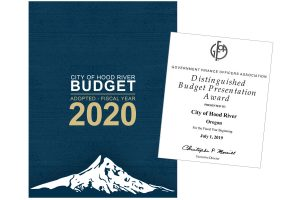 City Budget earns the Government Finance Officers Association (GFOA) award