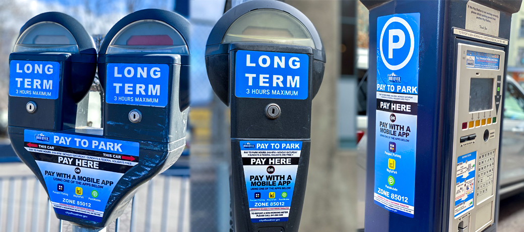 New payment methods for downtown parking