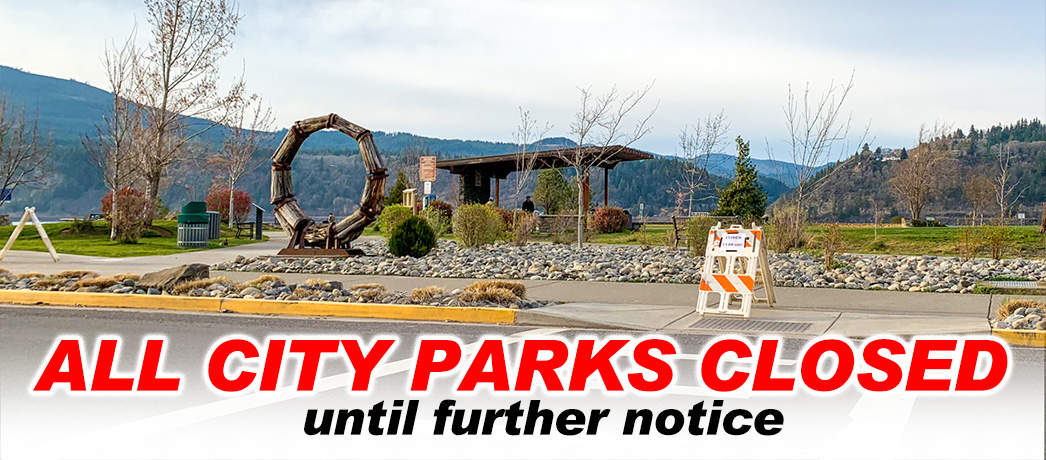 CITY CLOSES PARKS DUE TO COVID-19