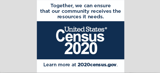 Be Counted in U.S. Census 2020