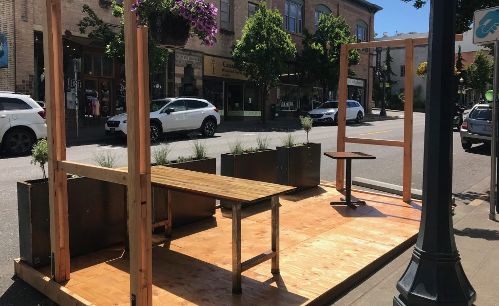 parklet oak street