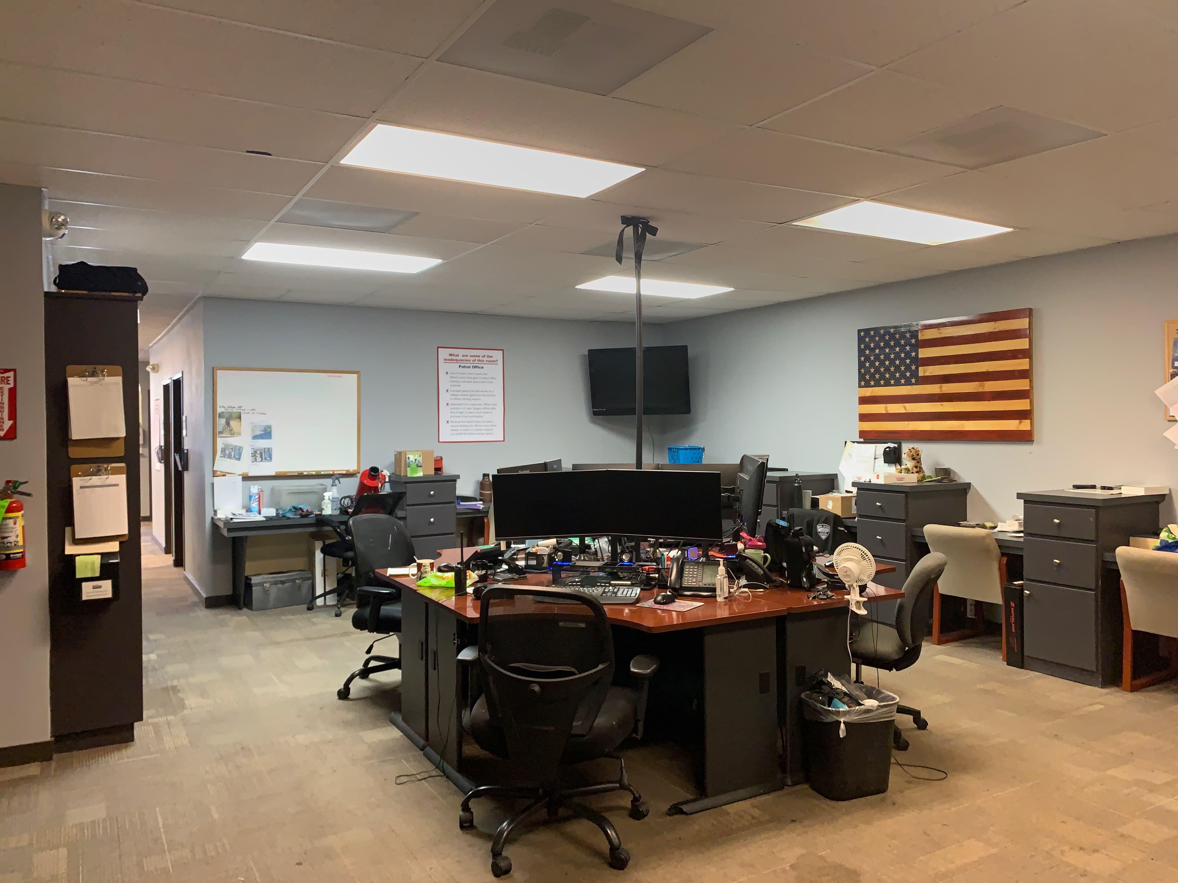 Shared Patrol Officer Workspace