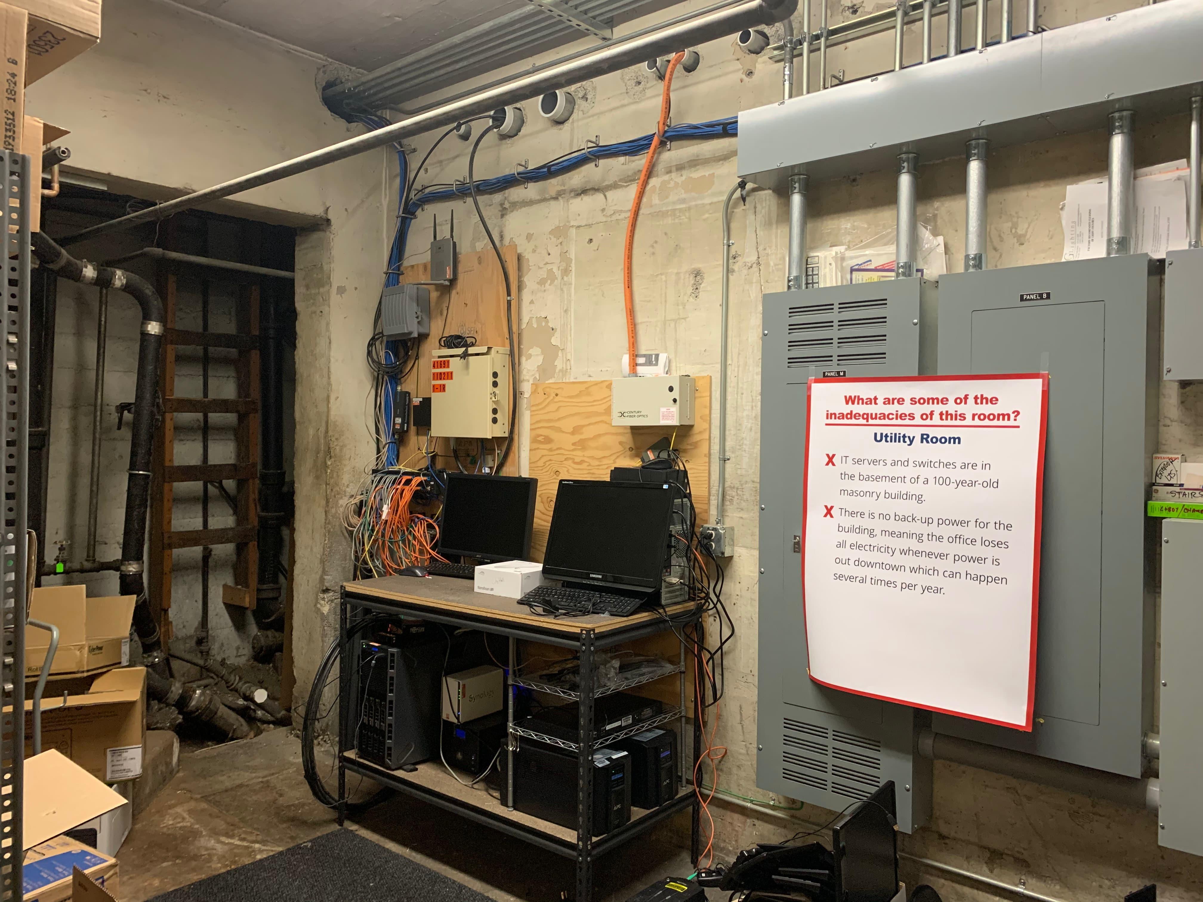 IT Server/Utility Room