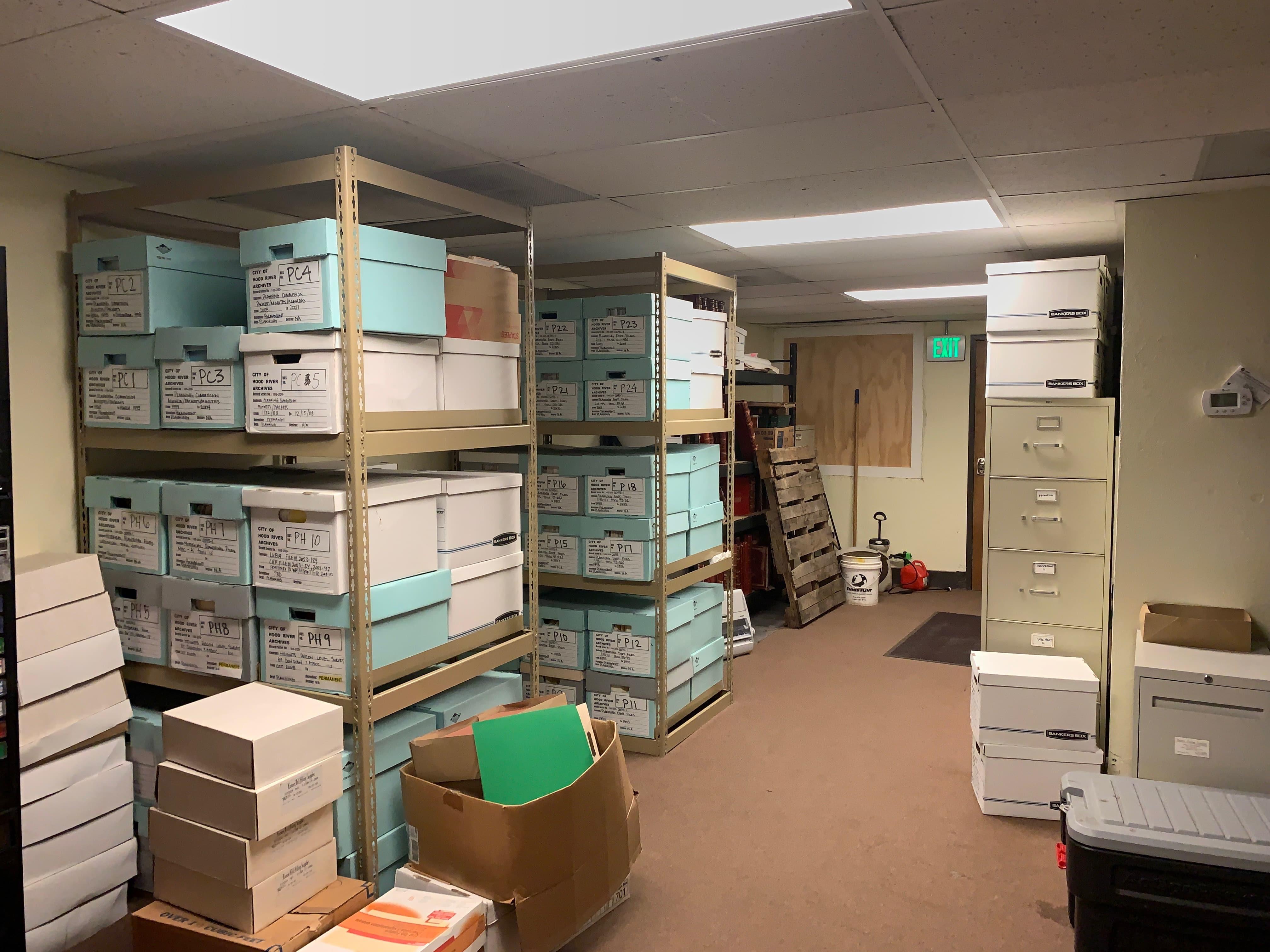 City Hall Records & Break Room