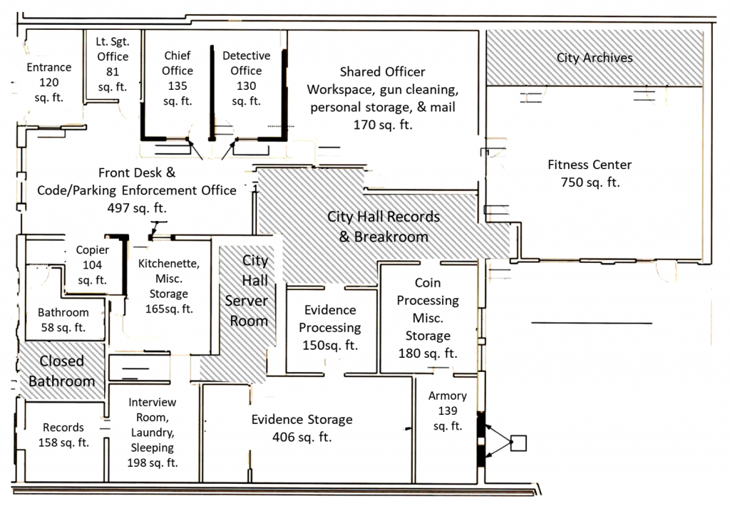 Existing Facility floorpan
