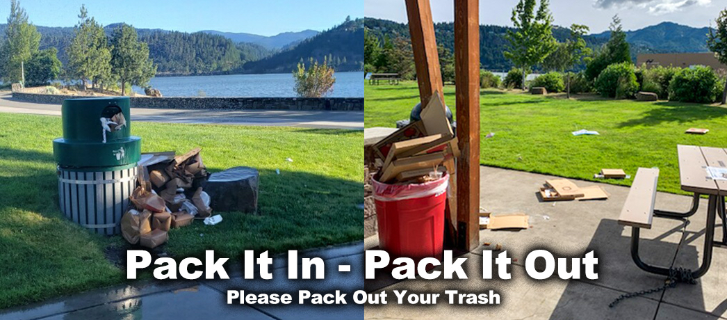 Please Help Keep Our Parks Clean