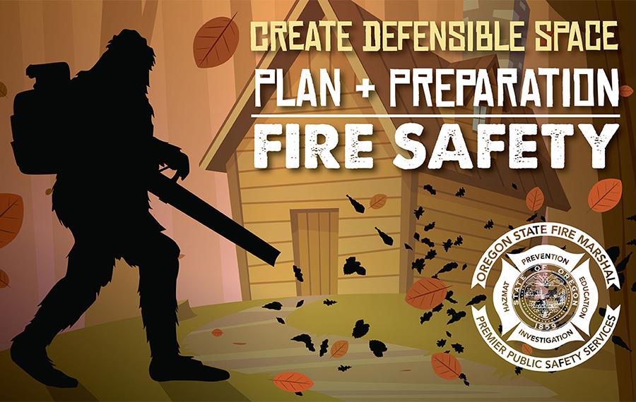 Crea un espacio defendible. Planea y prepara. Seguridad contra incendios