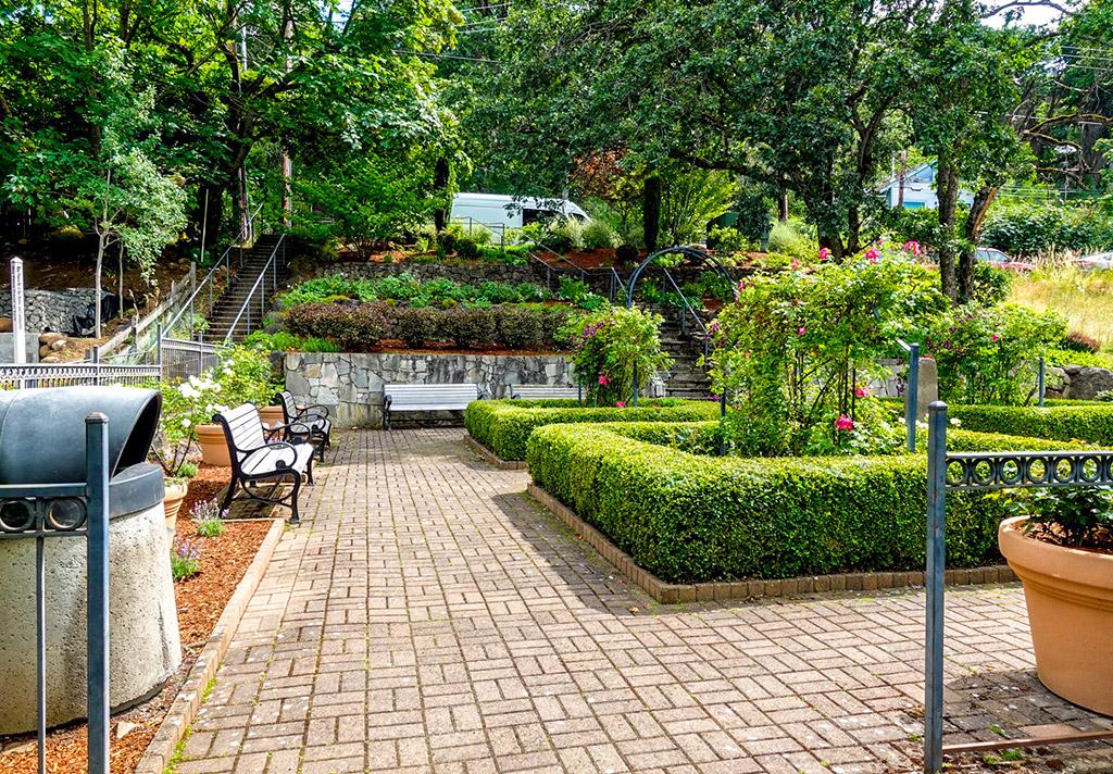 Stratton Rose Garden