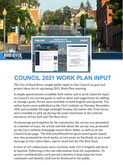 2021 Workplan Input