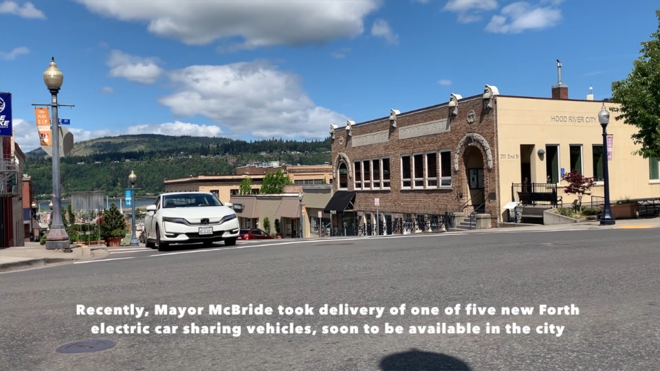 Car-sharing has arrived in Hood River