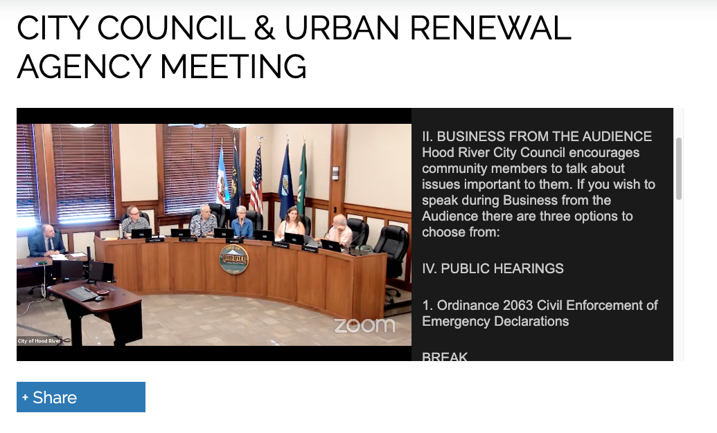 Council meetings now live-streamed